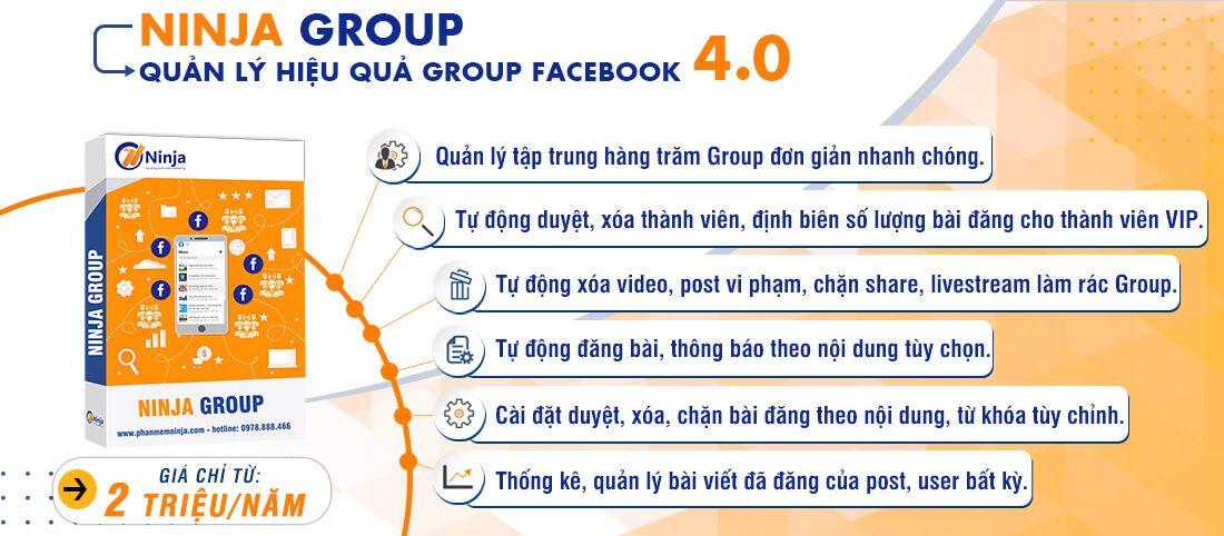 Phần mềm Ninja Group